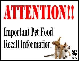 Pet Food Recalls Lakewood Animal Hospital Locust Grove Va